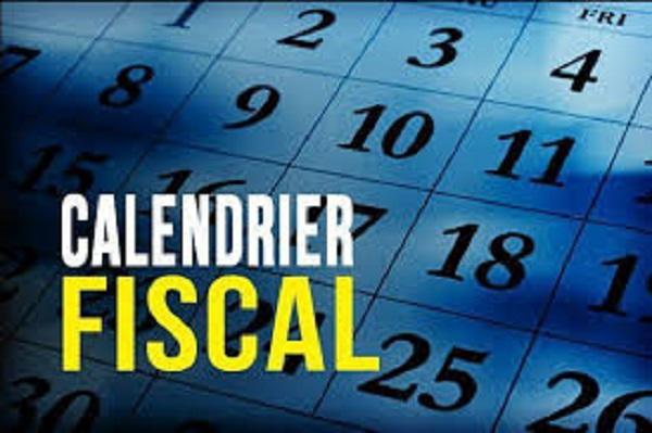 Calendrier Fiscal et Social Fevrier 2019 GABON