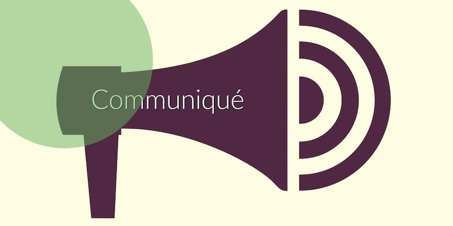 COMMUNIQUE DU MINISTERE DE L'EAU DE L'ENERGIE DE LA VALORISATION ET DE L'INDUSTRIALISATION DES RESSOURCES MINIERES
